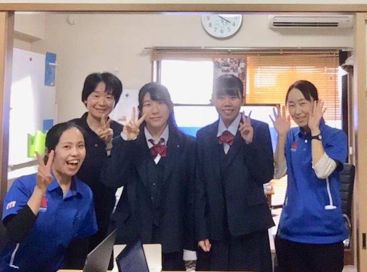 高校生がインターシップに来てくれました(^^)/