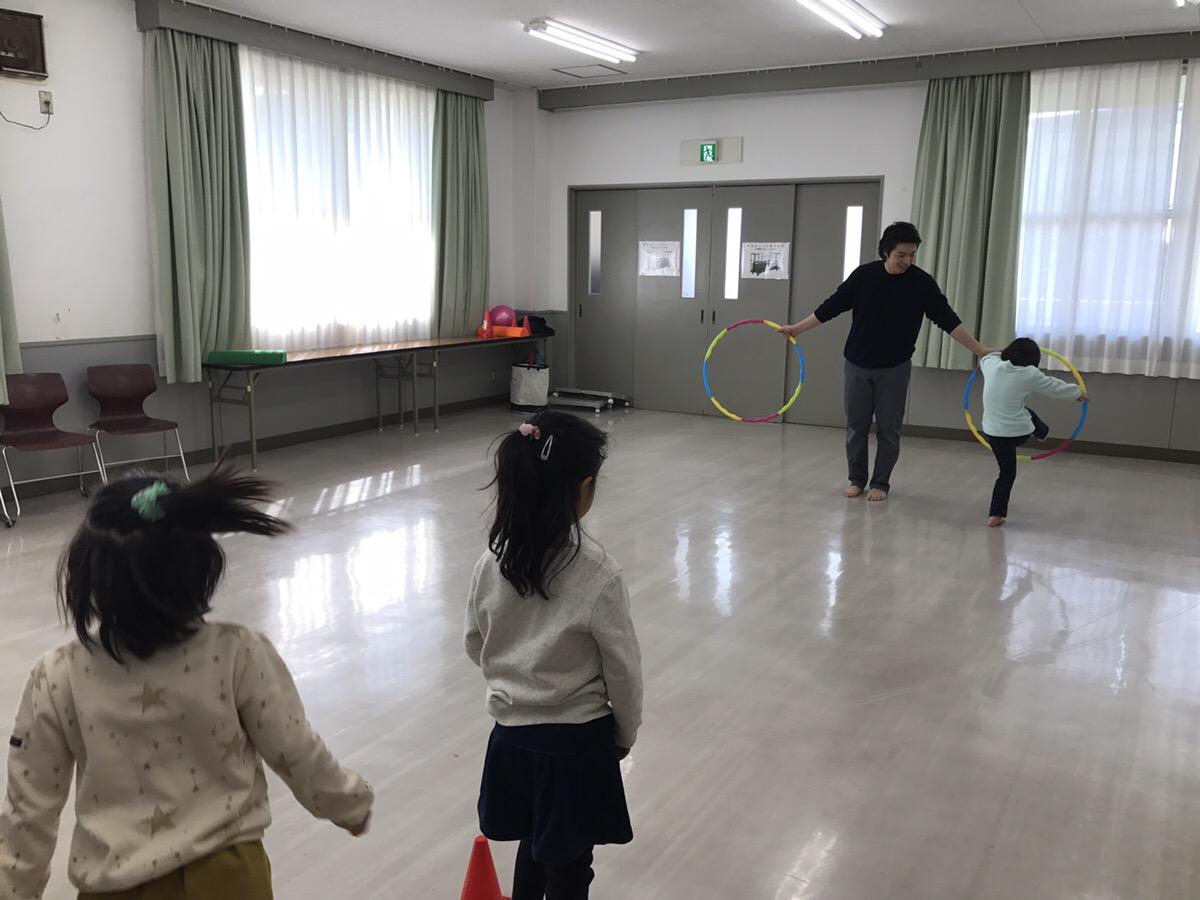 今年も子供向けの出張体操教室やってます!