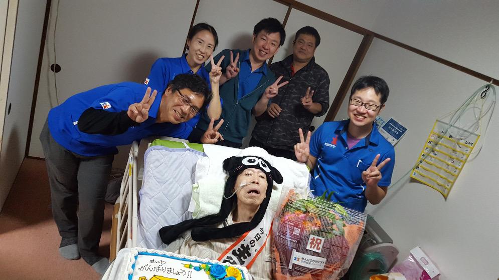 【藤が丘店】利用者様とお祝いしました(*^o^*)