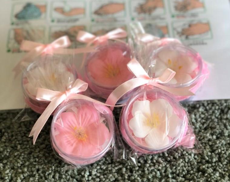 桜の石鹸はいかがでしょう~植田店より~