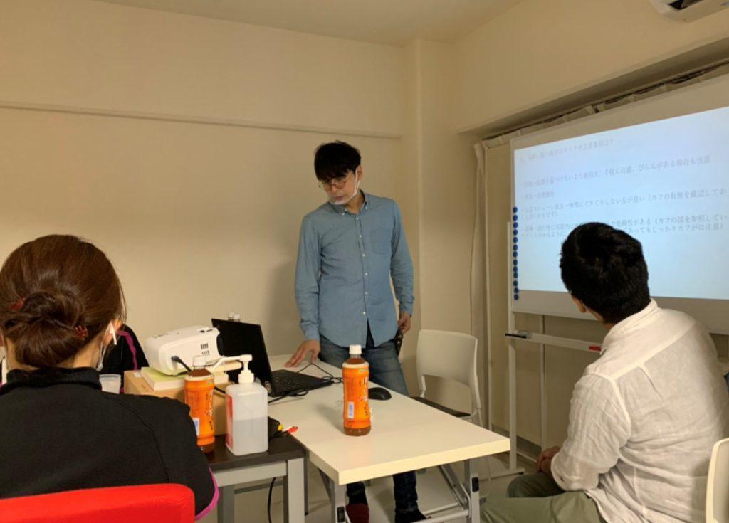 訪問介護ステーション様との勉強会(植田店)