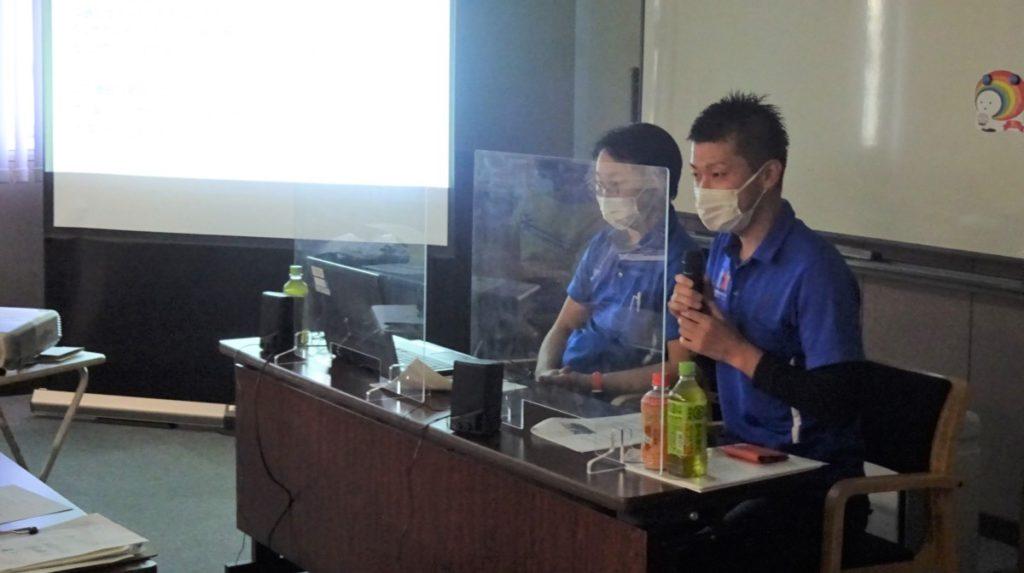 「虹のサービス」にて講演するみんなのかかりつけ訪問看護ステーション東京店・後藤聡看護師