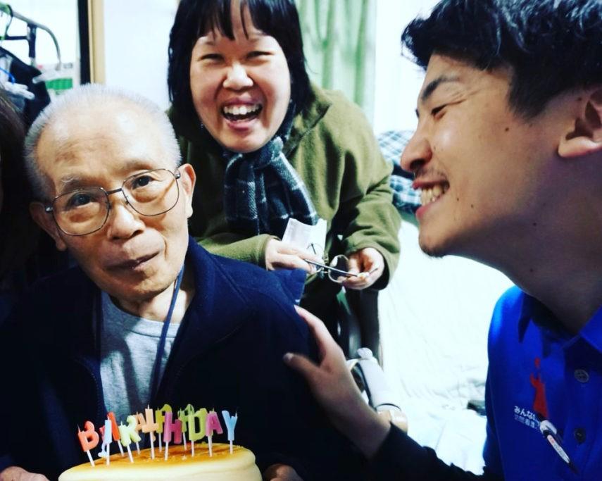 【ハピプロ】誕生日パーティを企画しました!(高畑店)